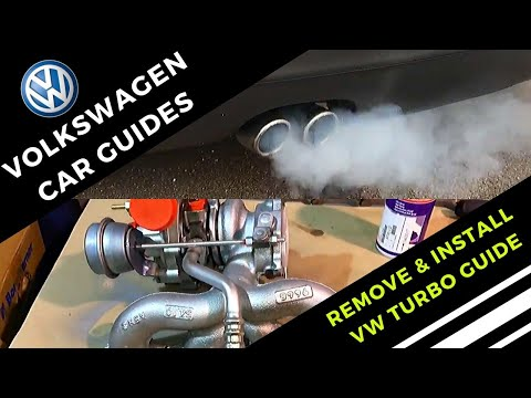 How To Remove And Install A VW Mk5 Golf Turbo Charger - Step by Step