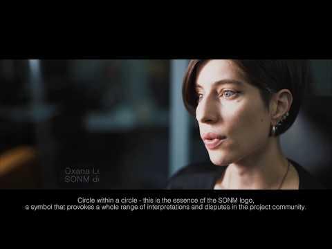 SONM Chief Designer telling the story of SONM logo