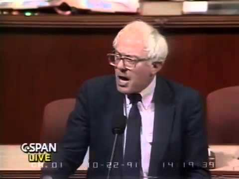 Bernie Sanders on Crime Bill Amendments 1991