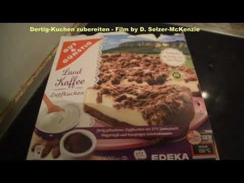 Fertig Kuchen Anrichten Youtube
