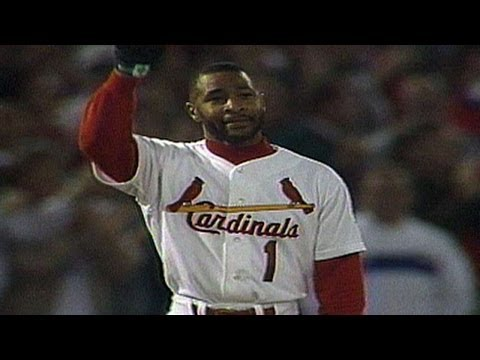 LAD@STL: Ozzie Smith reaches 2,000th hit milestone