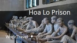 Tour of the Hanoi Hilton, Hoa Lo Prison, Hanoi Vietnam.