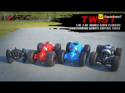 JJRC Q70 Twister Double sided Flip Deformation RC Climbing Car - RTR - Gearbest.com