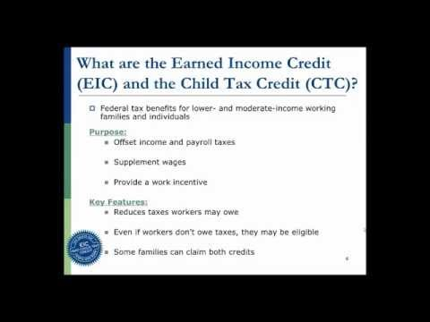 What is the Earned Income Tax Credit (EITC)?