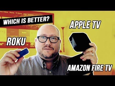 Which OTT Device Is Better Roku Vs Amazon Fire TV Vs Apple TV