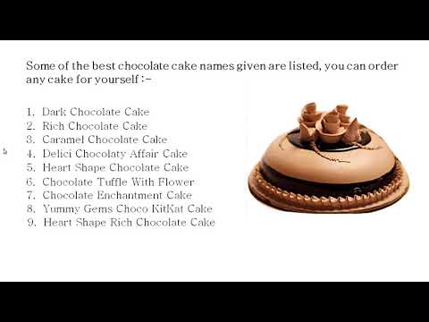 What to order or send online Chocolates Cake in Same Day