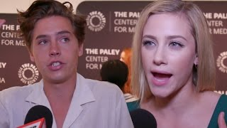 riverdale s cole sprouse lili reinhart spill on the future of bughead