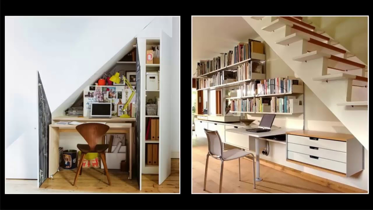 25 genius under stairs space design ideas home office for The design home