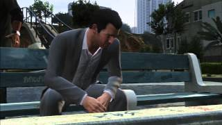 Grand Theft Auto (GTA) V | The 1st Hour Gameplay Walkthrough [No Commentary] Pt 1