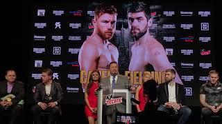Full Canelo Alvarez vs Rocky Fielding Press Conference thumbnail