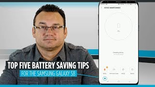 Top Five Samsung Galaxy S8 Battery Life Tips