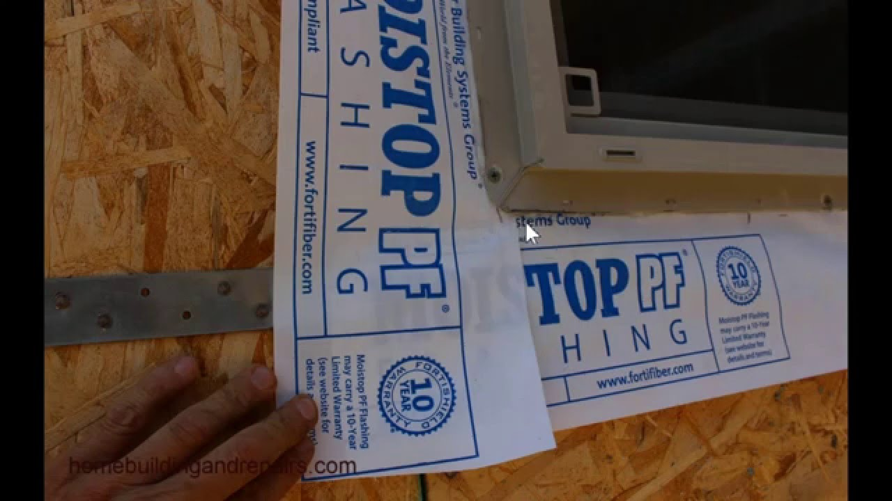 How To Install Windows With Flange New Building And