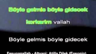 Erkin Koray - Fesupanallah karaoke
