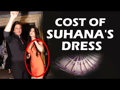 Thumbnail: Shahrukh's Daughter Suhana Orange Dress Cost Will Shock You
