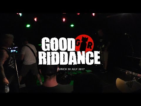 #goodriddance #zurich Good Riddance @ Live Zurich 30 July 2017