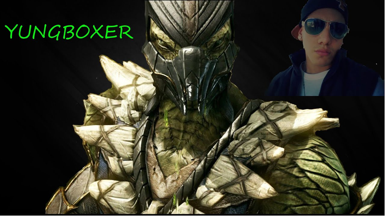 Mortal Kombat X: Reptile vs. Sub-Zero - YouTube
