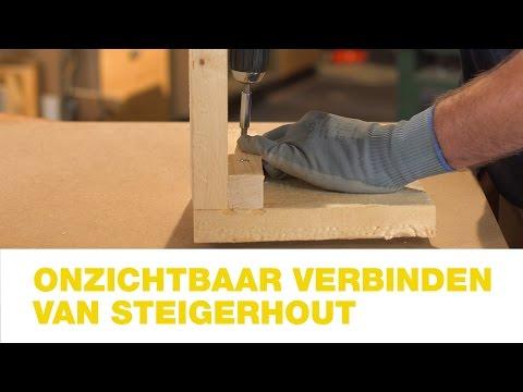 Praxis Onzichtbaar Verbinden Van Steigerhout Hoe Doe Je