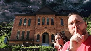 exploring a haunted school house