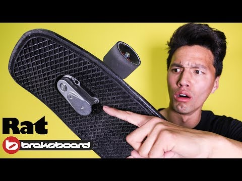PENNY BOARD WITH FOOT BRAKE?! *RAT BrakeBoard 2018*