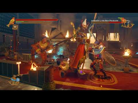 Pharaonic-Ahmosis I Final Boss Battle-Ripe for the Harvest Achievement |