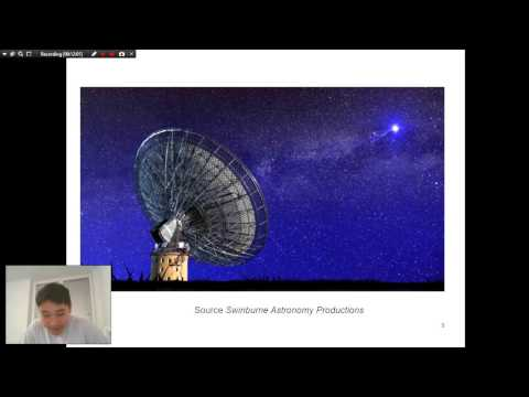 Seminar in topic of A repeating Fast Radio Burst (ENG)