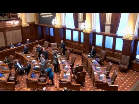 Illinois Senate budget talks stalled