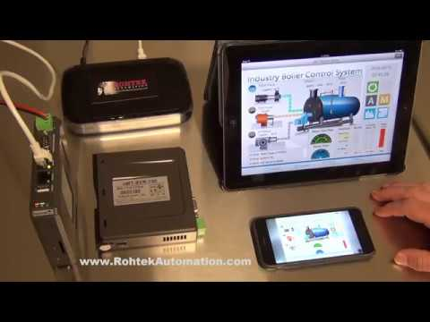 Multi HMI Screen/Operator control with cMT-SVR Demo - Weintek IIoT by  Rohtek Automation