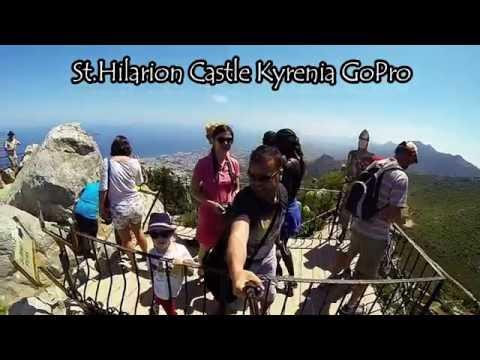 St Hilarion Castle Kyrenia North CYPRUS  GoPro 2016