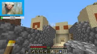 Minecraft Hardcore | Day 2 (mob grinder)