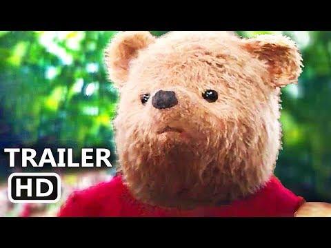 CHRISTOPHER ROBIN   2018 Ewan McGregor, Winnie the Pooh Disney Movie HD