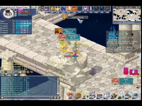 Angels Online PVP Spearmen