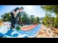 - FULL SPEED WATERPARK HILLBOMB ON A MINI BMX!