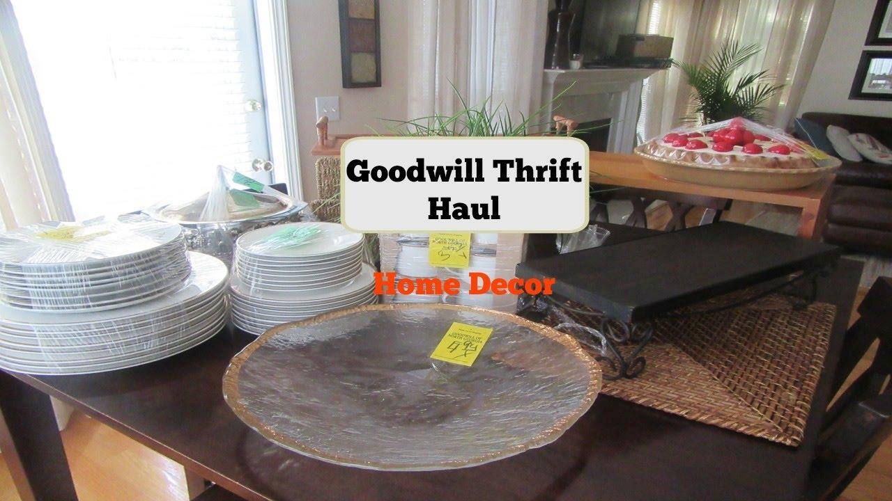 Goodwill Thrift Haul