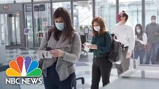 From Face Masks To Reduced Employment, Airlines Adapt To New Coronavirus Normal | NBC News NOW