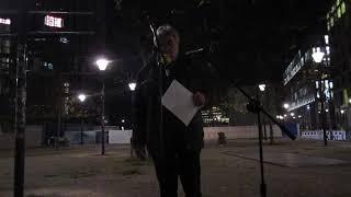 200!!!  Dr.Karl Schmitt eröffnet das Bärgida-Jubiläum (Pegida Berlin), 12.11.2018