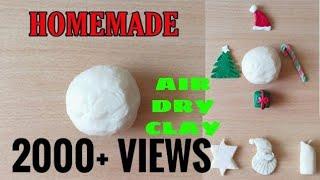 Homemade clay using maidaall purpose flourEasy air dry clay makingHow to make easy homemade clay