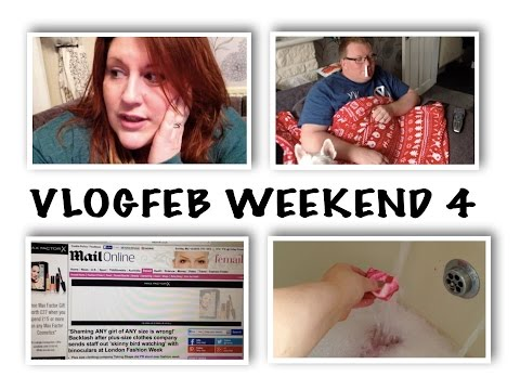 VLOGFEB WEEKEND 4 - Chats, Man Flu & Being In The Daily Mail