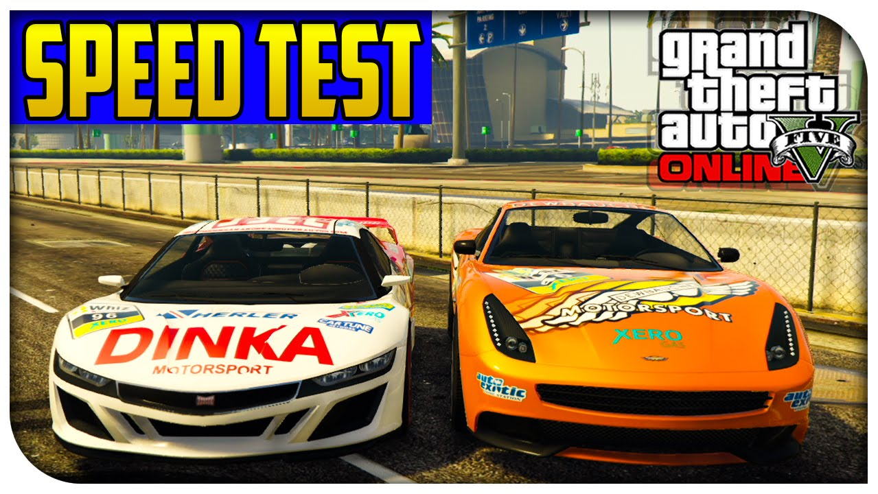 GTA 5 Online - NEW Massacro/Jester Racecar VS Normal ...