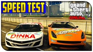 Gta 5 Online - New Massacro/jester Racecar Vs Normal Massacro/jester! [gta V]