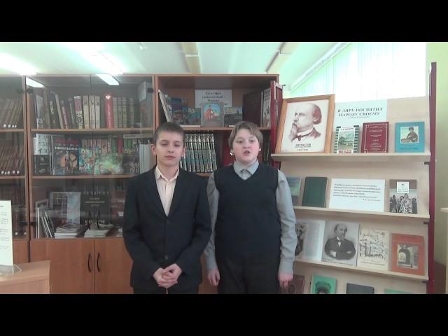 Изображение предпросмотра прочтения – «Егор Дядев и Влад Ивахин» читают произведение «Неохотно инесмело…» Ф.И.Тютчева