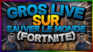 [Live] [Fortnite Save the World] exchanges blindly! Feat Matrix 2.0 and Official Bou!