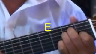 "How to play ""Blue Christmas"" by Elvis Presley on Guitar"