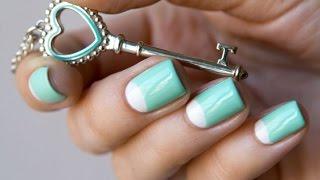 Дизайн ногтей. Лунный маникюр гель лаком. Технология нанесения подробно.