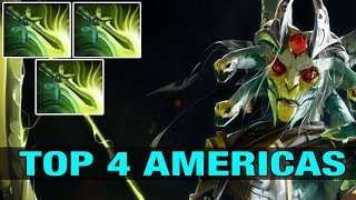 Yawar TOP 4 AMERICAS Plays Medusa With 3 Butterflies - Dota 2