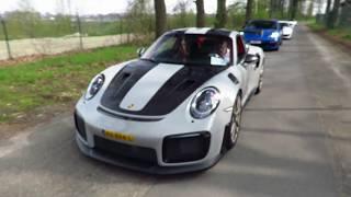 NEW !! Nardo Gray GT 2 RS weissach Package In The Netherlands @dutchporsches