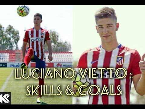 Luciano Vietto ►  2015/2016 ►Amazing Goals  & Skills  ► Atlético Madrid