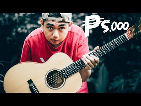 BUDGET GUITAR FOR 5000 PESOS | PHOEBUS BABY 30-GS | Tagalog Review