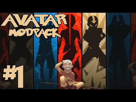 OUR STORY BEGINS! || Avatar Modpack Episode 1 (Minecraft Avatar Mod)