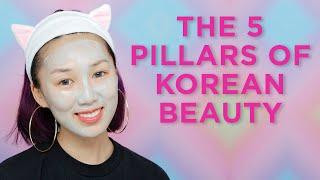 The 5 Pillars of Korean Beauty
