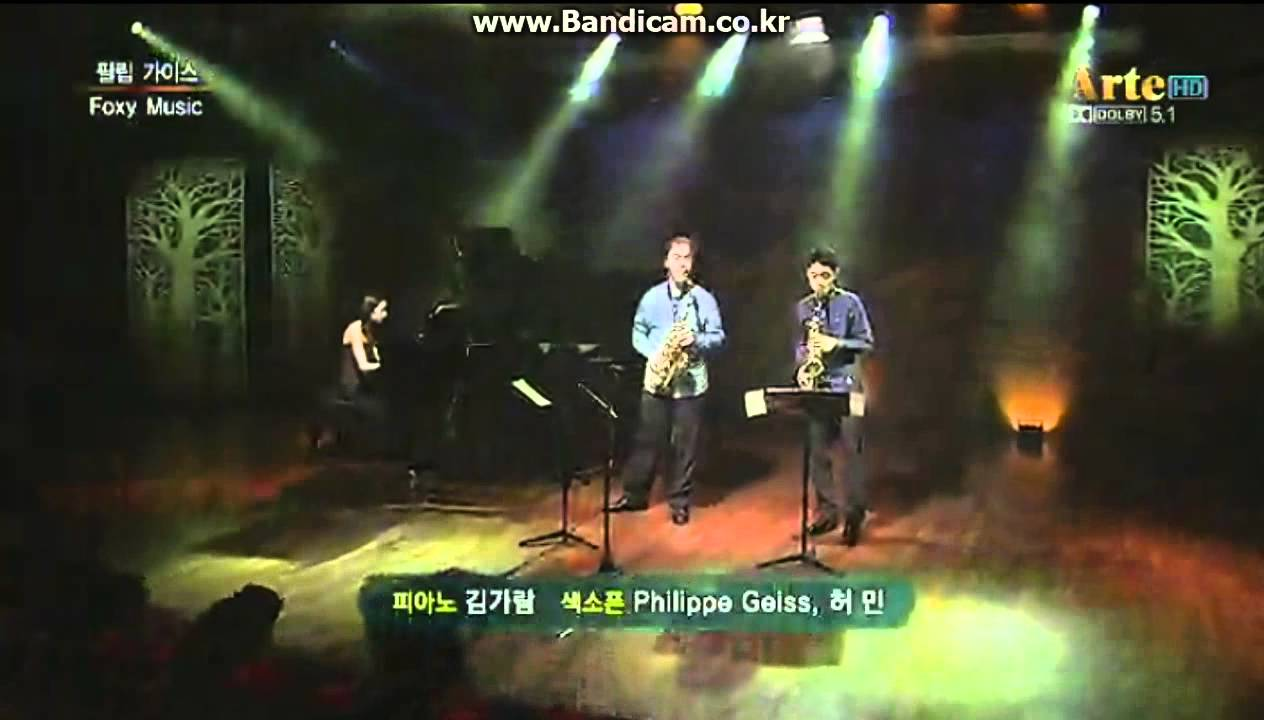 Download Foxy music. classical saxophone. Philippe Geiss ,Min Heo(15 years) . 허민. 클래식 색소폰
